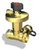 Ручные балансировочные клапаны БРОЕН DP, 45550010-021003