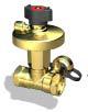 Ручные балансировочные клапаны БРОЕН DP, 47550010-021003
