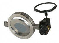 41100 Диско-повортный затвор из нержавеющей стали, PN 25 DN 80 - 700
