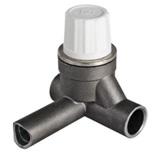 Клапан термостатический под приварку правый 26 x 21 x 26 мм, VT.035.R.04