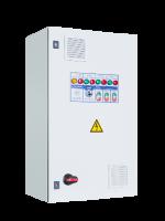 Шкафы управления 3 насосами/вентиляторами с 1 ПЧ (переменный мастер), пуск доп. электродвигателя напрямую