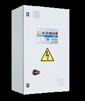 Шкафы управления 2 насосами/вентиляторами с 1 ПЧ (переменный мастер), пуск доп. электродвигателя напрямую
