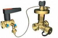 Комплект балансировочный клапан Ballorex DP+V