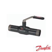 Кран шаровой сталь Standard JiP-WW Ду15 Ру16 под приварку стандартнопроходной рукоятка Danfoss 065N9600