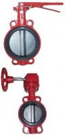 Затвор поворотный дисковый. BUV-VF Серия 866 Ру 16 Ду32-600 Ру16 GG25 / AISI316 / EPDM с рукояткой или редуктором