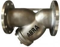 Фильтр сетчатый фланцевый из нержавеющей стали Ду 15-200 Ру 16, ABRA-YF-3000-SS316