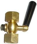 """Кран для манометра трехходовой / кран под манометр Ду 15, Ру16, внутр.G1/2"""" / внутр. G1/2"""" . ABRA тип VFM16-FGFG"""