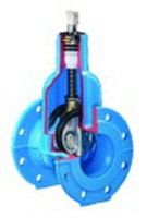 Задвижка Hawle 4700A короткая (диаметр dn50-200)