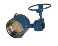 31300 Диско-поворотный затвор из углеродистой стали с патрубками под приварку, PN25 DN 200-1400